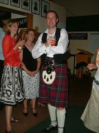 スコットランドの民族服