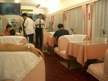夜行列車の食堂車