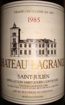 Ch Lagrange 1985