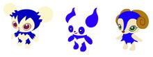 ブルーのイメージ