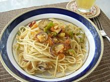 夏野菜スパゲッティ