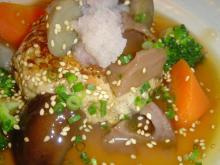 自然茶房 豆腐ハンバーク