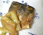 レンジで鯖の味噌煮