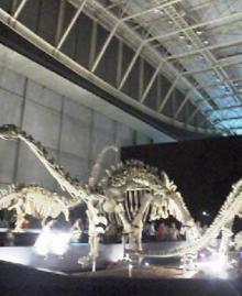 恐竜だらけ