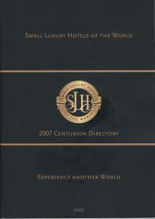 SLH 2007 CENTURION DIRECTORY