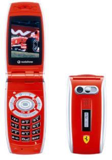 ボーダフォン 『V302SH Ferrari Edition』