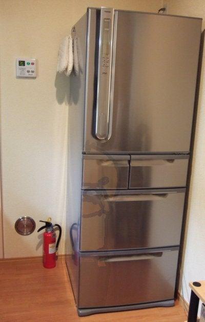 新入り冷蔵庫