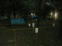代々木公園(テント跡)