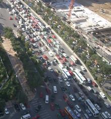 北京の渋滞