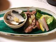 蛇目寿司本店の酢の物