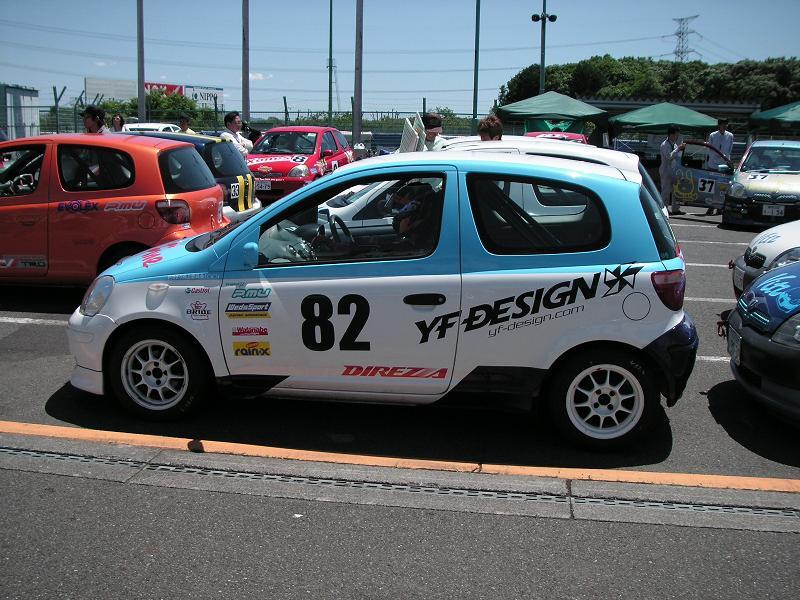 Vitz82号車