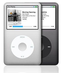 New iPod classic