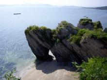 大連金石灘浜海国家地質公園9