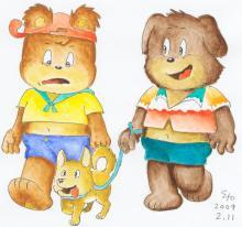 妄想印象派 あるいは、文化的引きこもり-小熊のハウアス 26話