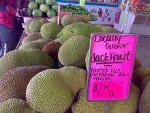 見たことないようなフルーツがいっぱい