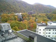 旅館の窓から(夕方2)