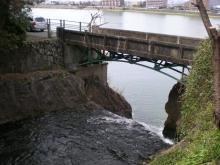 郷瀬川の落ち合い