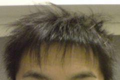 髪型かえた