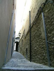 旧ユダヤ人街を歩く