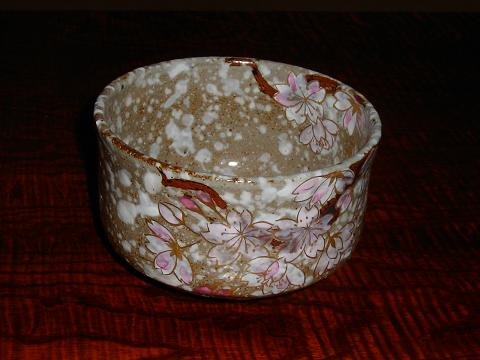 桜の抹茶碗
