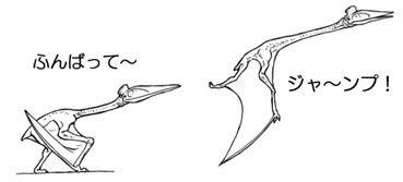 川崎悟司 オフィシャルブログ 古世界の住人 Powered by Ameba-飛翔するハツェゴプテリクス