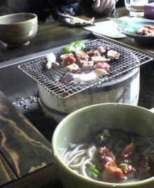 地鶏とお蕎麦