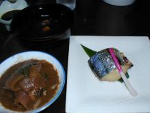 味噌鍋と鰆