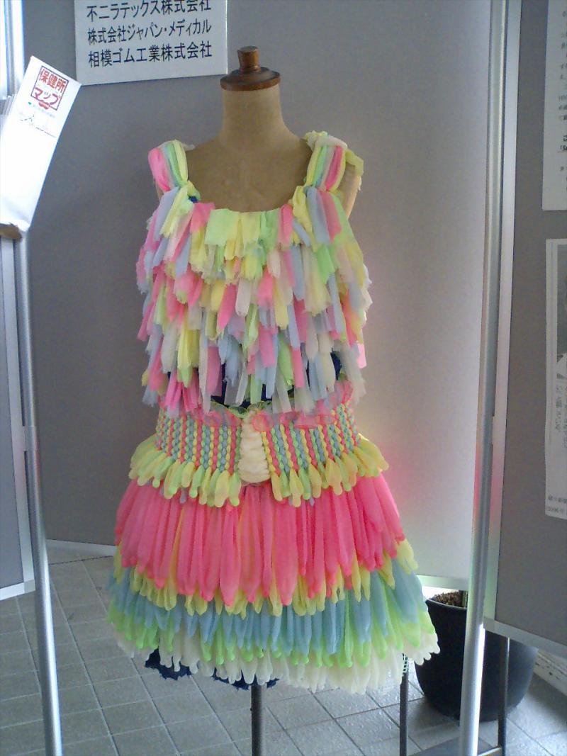 Как сделать платье из подручных материала