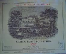 個人的ワインのブログ-Ch Lafite Rothschild 1987