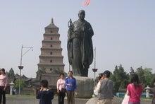 大雁塔と玄奘像