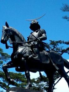 伊達政宗公騎馬像