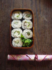 豆腐の味噌漬け巻き弁当