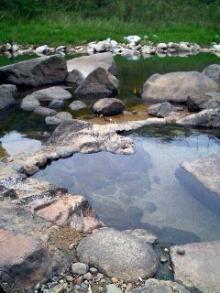 出雲湯村河原の湯1