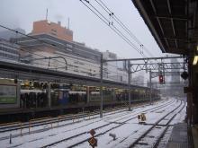 続 東京百景(BETA version)-#014 新宿駅の白雪
