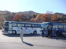 観光バス2台で慰安旅行