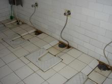 空港のトイレ(女子)