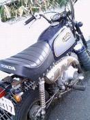 Wのバイク?(Wのブログに載ってた写真)