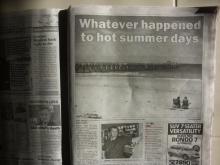 ニュースレター from オーストラリアのアデレード-冷夏