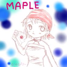MAPLE おえかき
