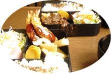 焼肉&エビフライ弁当