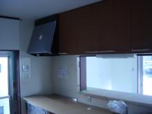 キッチン完成棚