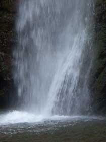 養老の滝飛沫