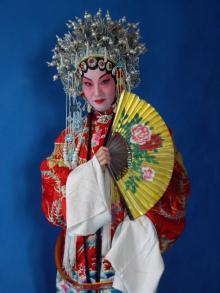京劇メイク体験3