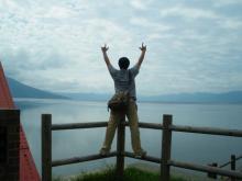 支笏湖でっかいどー