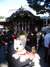 垂水海神社にて