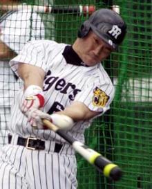 阪神 金本選手!