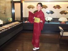 京都で着物