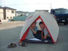新しいテント2