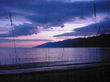 Abendrot-Baikalsee