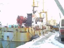 ロシア冷凍船